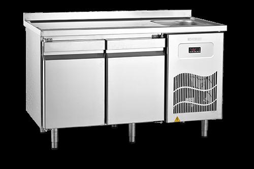 SBE - Tezgah Tipi Buzdolabı / Eviye Üst Tablalı