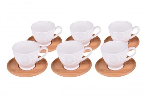 Yola 6 Kişilik Kahve Fincan Takımı