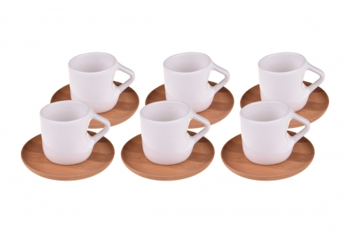 Nardo 6 Kişilik Kahve Fincan Takımı