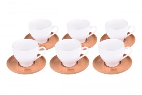 Fhuye 6 Kişilik Kahve Fincan Takımı