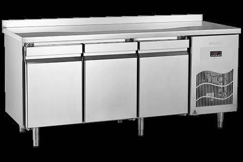 SBN - Tezgah Tipi Buzdolabı / Paslanmaz Üst Tablalı