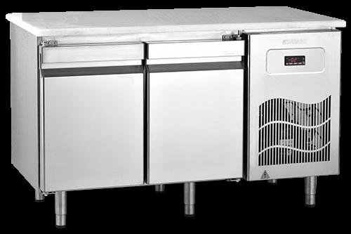 SBP - Tezgah Tipi Buzdolabı / Poiletilen Üst Tablalı